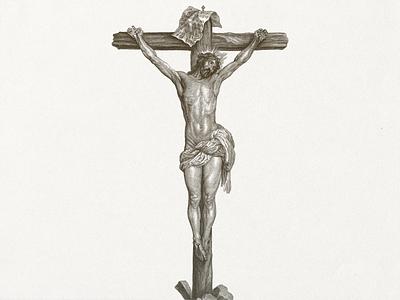 I.N.R.I. ... vector graphic easter jesus christ cross illustration vector art vector illustration