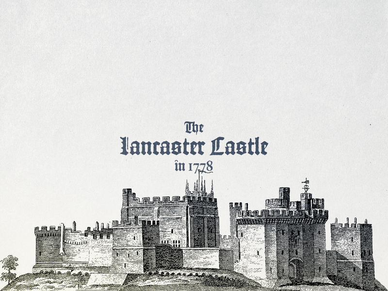Lancaster Castle ... design illustration retro typo typography castle vectorgraphic vector illustration vectorart