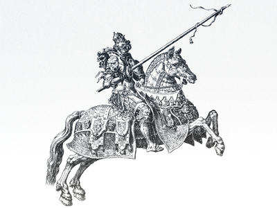 Knight and Horse ... illustraion horse knight vector graphic vector illustration vector art