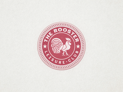 the rooster  badge ...