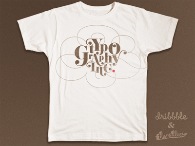 Typography Inc. ... typography lettering type typo threadless dribbble logo fancy lettering
