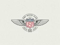 »USA« Winged Badge ...
