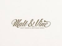 Malt & Vine ...