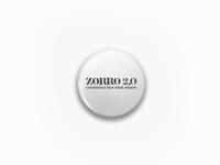 Zorro 2.0 ... apparel mask corona covid typography lettering typo