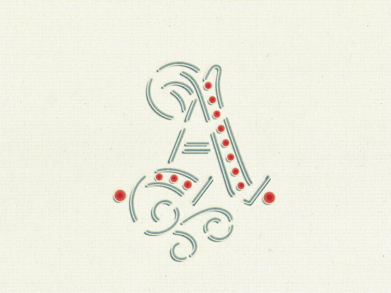 Fancy Letter A By Arno Kathollnig