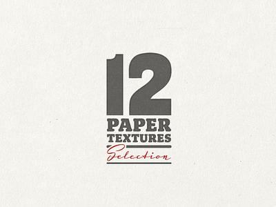 12 Paper Textures ... typography lettering type typo textures paper textures texture freebie