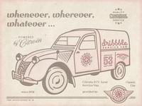 Dribbble Service Van Ad ...