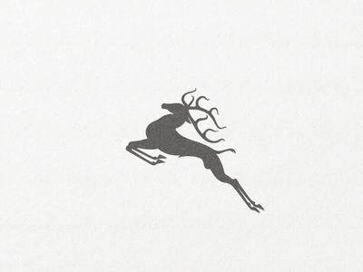 Deer Mark ... logo key visual vector graphic mark symbol