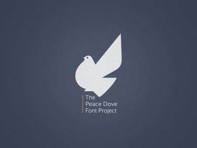 »Peace Dove« Font Project ...
