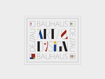 Bauhaus ... bauhaus design typo typography
