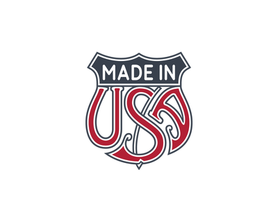 »Made In USA« Trade Emblem ... typography lettering typo fancy lettering usa trade emblem vector graphic freebie