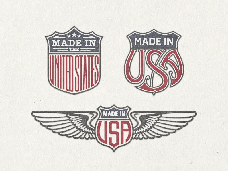 Us trade emblems vector bundle no.1 ...