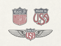 »US Trade Emblems« Vector Bundle No.1 ...