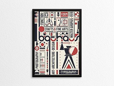 Bauhaus Poster II ... poster de stijl bauhaus design logo illustration vector graphic typo typography