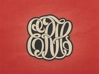 »ERH« Monogram Stencilled ...