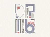 Bauhaus Typo ...