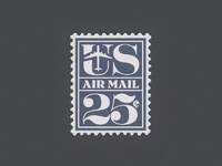 Us air mail large