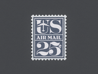 U.S. Air Mail Postage Stamp ...