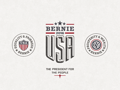 Bernie Badges ... bernie sanders badges lettering type typo typography