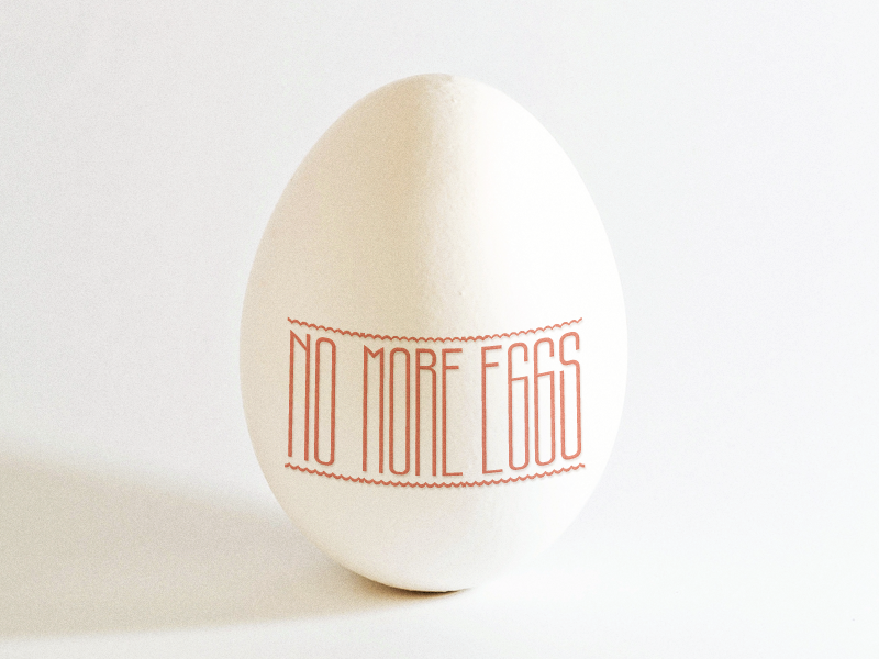Reverse Greetings ... egg holidays easter lettering type typo typography