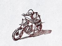 Vintage Motorcycle II ...