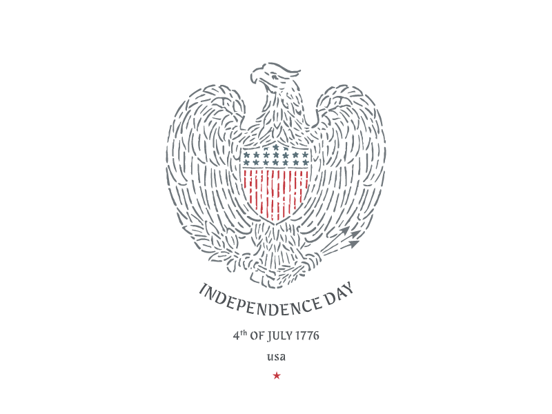 Independance day vector preview