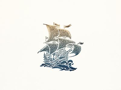 Sailing Vessel ... vessel boat ship sailing illustration vector graphic