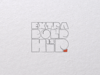 Extra Bold