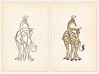 Giraffes ..