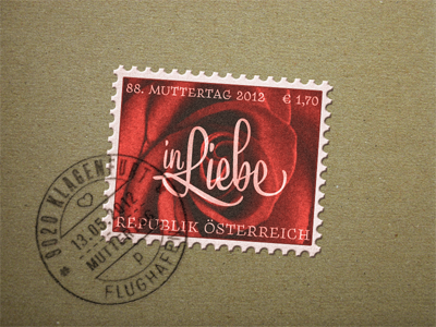 Mother's Day Postage Stamp ...