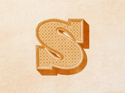 Decorative  s  initial ...
