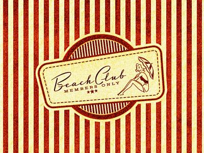 Beach club   ii ...