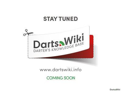 DartsWiki ... darts webdesign logodesign logotype logo typography type