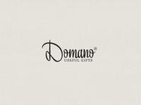 »Domano«  Wordmark