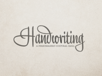 Handwriting ...