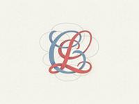 »CL«  Monogram Interlaced ..