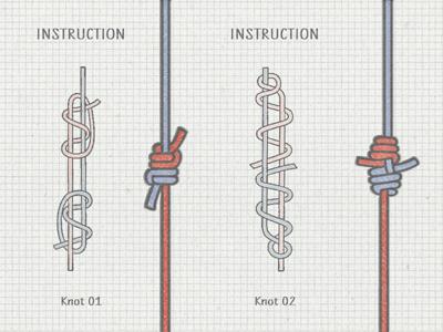 2 vector knots ...