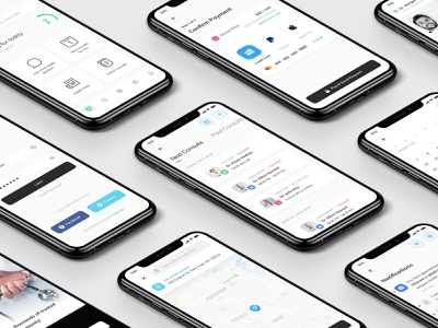 Medical Health Mobile Application - UI UX Project mobile app wellness app health and wellness health mobile medical mobile health app medical app user interface application user experience ui design ux