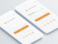 Login Design for Rental App