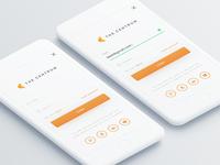 Login Design for Rental App