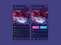 UI/UX Game Design powered by Blockchain