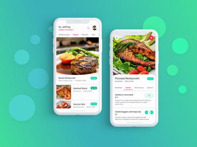 Food Delivery Mobile App - UI / UX Design