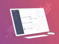 Chatbot for Qwant health - UI/UX Web App Design