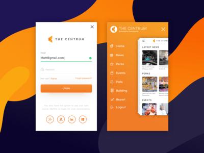 Luxury Office Renting App