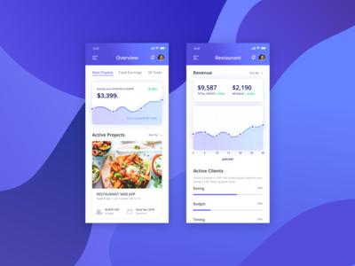 Restaurant Management Mobile App