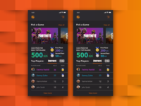 Online Betting Game Mobile Design Powered by Blockchain