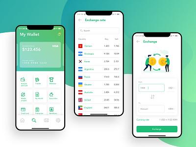 Mobile Banking App - UI/UX Design finance app banking bank app ios13 modern user interface mobile app application user experience ui design ux