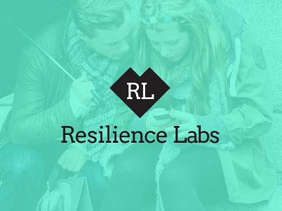 Resilience Labs Logo WIP logo labs geometric