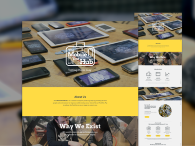 Mobile Test Hub brand mobile web