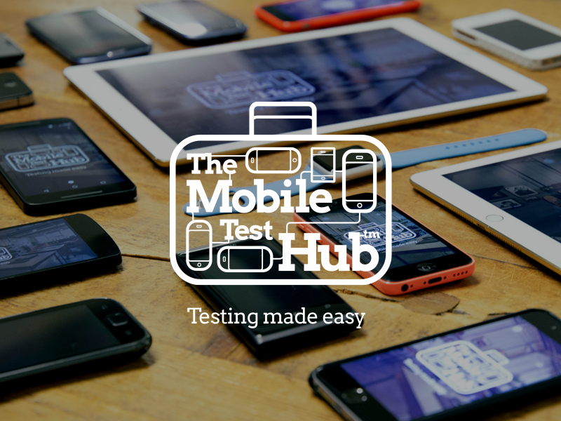 Mobile Test Hub web brand